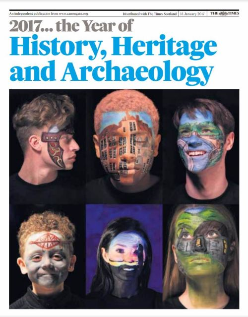 2017 year of History heritage and archaeology cover